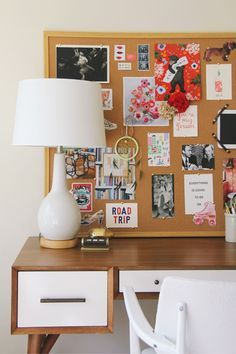 Love this office Inspiration Board + West elm's Mid-Century Desk Inspiration Boards, Room Inspiration, Mid Century Desk, Home Office Space, My Room, Office Decor, Office Table, Sweet Home, Bedroom Decor