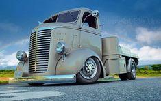 Very cool Truck ! Dodge Trucks, Chevrolet Trucks, New Trucks, Custom Trucks, Pickup Trucks, Custom Cars, Hot Rod Trucks, Cool Trucks, Small Trucks