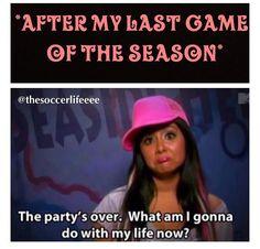 So true. especially when the seniors do their senior walk and they say goodbye. :(