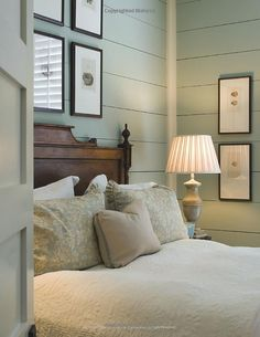 Cottage style bedroom.