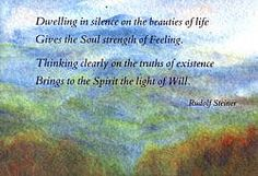 Verses and Meditations from Rudolf Steiner