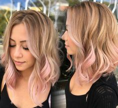 Image result for hair dye sandy blonde pink