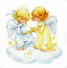 Leading Illustration & Publishing Agency based in London, New York & Marbella. Cute Images, Cute Pictures, Engel Illustration, Clipart Noel, Halloween Vintage, Illustration Mignonne, Image Deco, Decoupage, I Believe In Angels