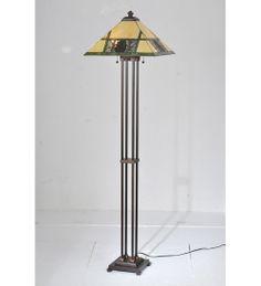 "Meyda 63""H Pinecone Ridge Floor Lamp"