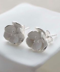 Look what I found on #zulily! Sterling Silver Blossom Stud Earrings - Women #zulilyfinds