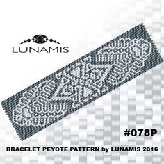 PATTERN ONLY. Create this beautiful peyote cuff bracelet.  Miyuki Delica Beads size 11/0 Odd count with 2 bead colors. 31 bead columns by 91 bead rows. Width: 1.6 (4,2 cm) Length: 6.2 (15,8 cm)   Patterns include: - Large colored numbered graph paper (and non-numbered in another files) - Bead legend (numbers and names of delica beads colors ) - Word chart - Pattern preview  This pattern is intended for users that have experience with even count peyote and the pattern itself does NOT include…
