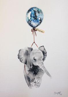 Heel ver weg,was er eens een jong olifantje en dat kon vl..................... lb xxx.