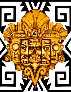 BADDER AZTEC ILLUSTRATION  
