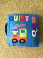 De Fieltro en Fieltro: QUIET BOOK