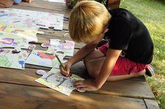 Rozwijaki #Puzzle XXL, to niesamowita #zabawa dzięki której #dziecko może rozwijać się artystycznie.