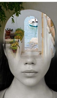 the window, by antonio mora
