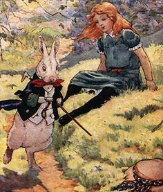 Adventures In Wonderland: Chapter 1 ~ Down The Rabbit-Hole by Frank Adams