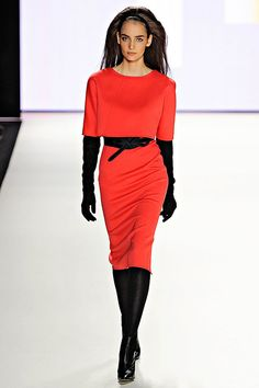 Carolina Herrera Fall/Winter 2012 collection.