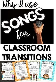 Using songs for classroom transitions