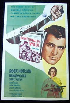 Something of Value Movie Poster 1962 Kenya