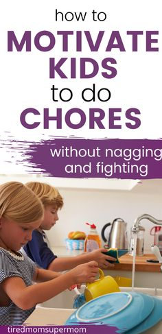 Do your kids whine and groan about helping out around the house? Here are some simple and effective ways to get your kids to help you with household chores without whining and protesting. Chore ideas for kids of all ages included as well as reward systems for helping out! Parenting Advice  #ChoresForKids #ParentingAdvice #RaisingKids Parenting Issues, Gentle Parenting, Parenting Advice, Kids And Parenting, Disciplining Children, Different Parenting Styles, Family Roles, Chore Ideas, Tired Mom