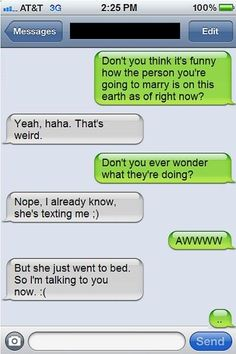 This person who is only a friend, apparently. | 21 People Who Don't Have Time For Your Flirtatious Texting