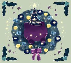 Night Cat's Holiday P1.
