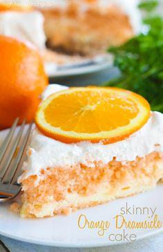 Skinny Orange Dreamsicle Cake Recipe