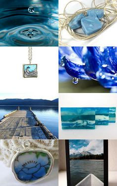 Blue Waters by Paula on Etsy--Pinned with TreasuryPin.com