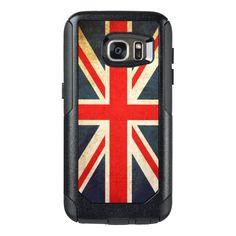 Vintage Union Jack British Flag OtterBox Samsung Galaxy S7 Case http://www.zazzle.com/vintage_union_jack_british_flag_otterbox_samsung_galaxy_s7_case-256807151551018564?rf=238983255453313619