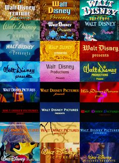 """walt disney presents"" over the years"