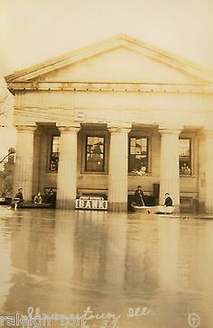 2014  Ghosts of Old Shawneetown Illinois Collectors Calendar 1st Bank Flood.
