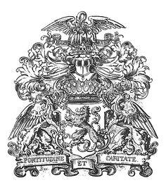 Wappen der Grafen von Mensdorff-Pouilly  Coat of Arms of The Counts von Mensdorff-Pouilly