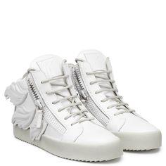 CRUEL - WHITE - Sneakers- Mid Tops