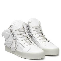 CRUEL - WHITE - Sneakers- Mid Tops