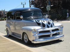 Old Trucks. 54 Chevy Truck, Classic Chevy Trucks, Chevrolet Trucks, Gmc Trucks, Pickup Trucks, Classic Cars, 1955 Chevy, 1955 Chevrolet, Chevrolet Suburban