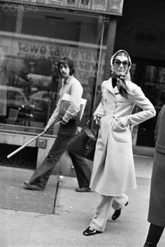 6226a2b684 Jackie Onassis on the Street Mrs Kennedy