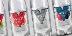 VIVE Sparkling Water on Packaging of the World - Creative Package Design Gallery