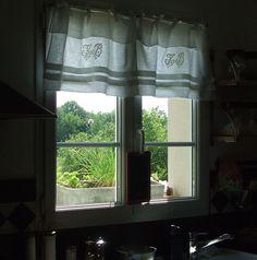 """résultat de recherche d'images pour """"mini rideaux cuisine en vichy"""