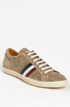 Moncler  Monaco  Suede Sneaker available at Nordstrom Classic Sneakers,  Suede Sneakers, Moncler 8b79f03686f