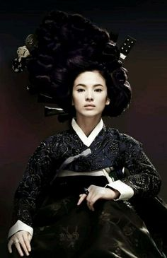 Song hye kyo / Hwang jin yi / hanbok