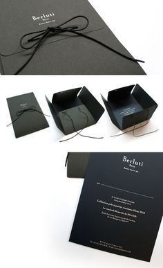 BERLUTI | MAZARINE | Agence de communication luxe Get Free Plastic Card Samples from http://www.plasticcardonline.com