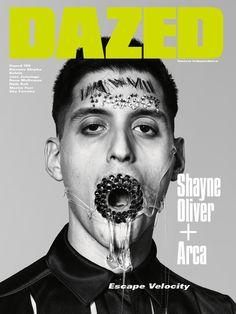 DAZED Cool Magazine, Magazine Art, Magazine Covers, Richard Burbridge, Escape Velocity, Dazed And Confused, Digital Magazine, Portrait Photography, Instagram Posts