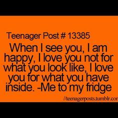 I love you, Fridge. <3