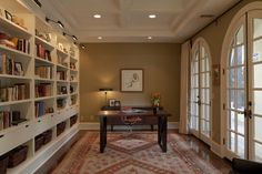 Home Office / Library - Amy Sklar Design Inc.