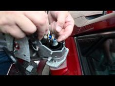 Repair Loose/Broken Lexus Side Mirror Housing - YouTube