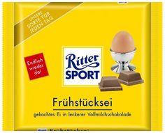 RITTER SPORT Fake Schokolade Frühstücksei