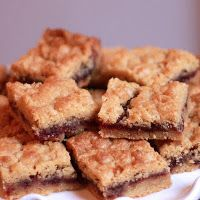 Almost Slowfood: Tasty Treat: Raspberry Shortbread Bars