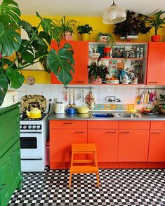 Enjoyable 43 Best Trendspotting Bold Kitchens Images In 2019 Onthecornerstone Fun Painted Chair Ideas Images Onthecornerstoneorg