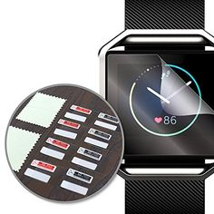 MDW Screen Protector for Fitbit Blaze 8 Pack >>> See this great product.