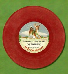 I remember these...loved the yellow and red vinyl kiddie records!