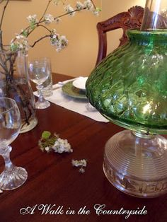 A Walk in the Countryside: Flowering Dogwoods in the Tablescape