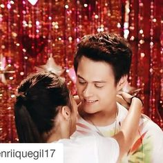 Hala ituloy na yan quenito wag ng magpigil hahaha ikiss na yan #Repost @enriiquegil17 with @repostapp ・・・ Sweetest couple  Thank you for the Love // Team Forever ❤️ ABSCBN Christmas Station ID 2015 ❤️ #TeamForever #enriquegil #lizquen #lizasoberano || #EverydayILoveYou #Forevermore ••• #ThankYouForTheLove