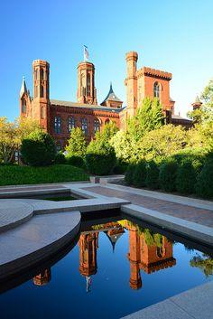 Smithsonian Castle by RLBolton, via Flickr