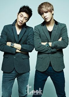 Doojoon and Dongwoon for '1st Look'